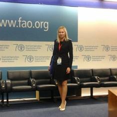 Silvia Busacca ambasciatrice internazionale