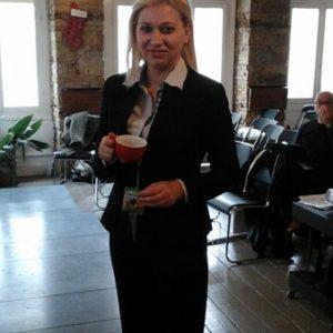 Silvia Busacca - Delegata italiana ringrazia Atene